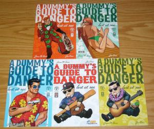 A Dummy's Guide To Danger: Lost At Sea #1-4 VF/NM complete series + variant