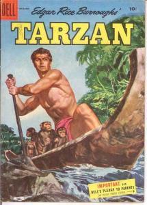 TARZAN 72 VG    September 1955 COMICS BOOK
