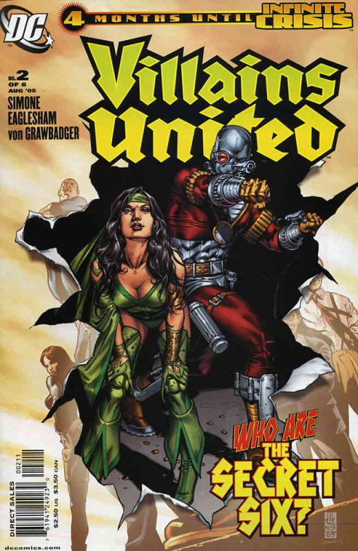 Villains United #2 VF/NM DC - save on shipping - details inside