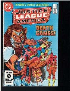 Justice League of America #222 (1984)