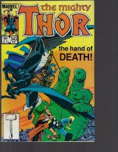 Thor #343 (Marvel, 1984) VF