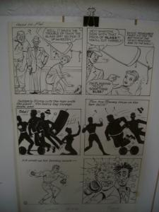 KATY KEENE ORIGINAL ART LAUGH COMICS #112 PG 14  WOGGON FN