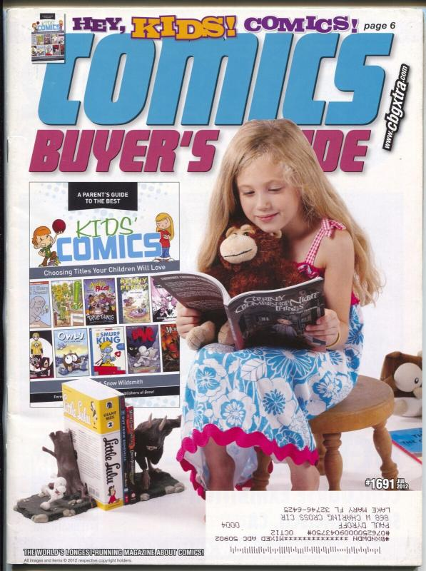 Comics Buyer's Guide #1691 2012-Krause-Kid's Comics-Buy & sell ads-FN