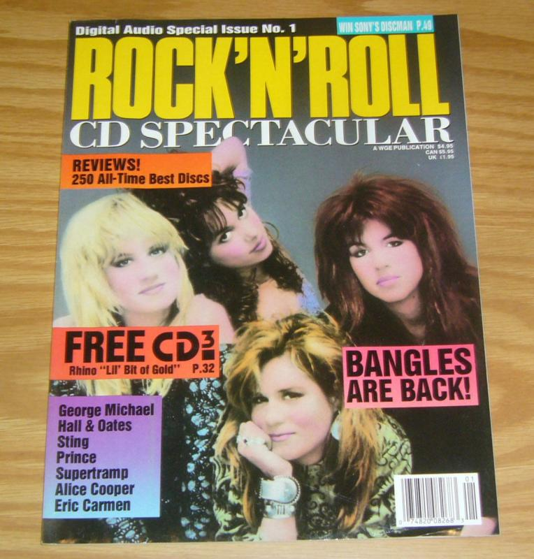 Digital Audio Special Issue #1 VF rock 'n' roll cd spectacular - the bangles