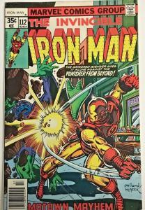 INVINCIBLE IRON MAN#112 FN/VF 1978 MARVEL BRONZE AGE COMICS