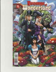 Revenge of Wonderland #1 Cover B Zenescope Comic GFT NM Salazar