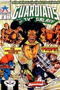 Guardians of the Galaxy (1990 series) #19, NM (Stock photo)