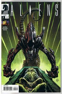 ALIENS #2, NM-, John Arcudi, Horror, Sci-Fi, 2009, Sci-Fi, more in store