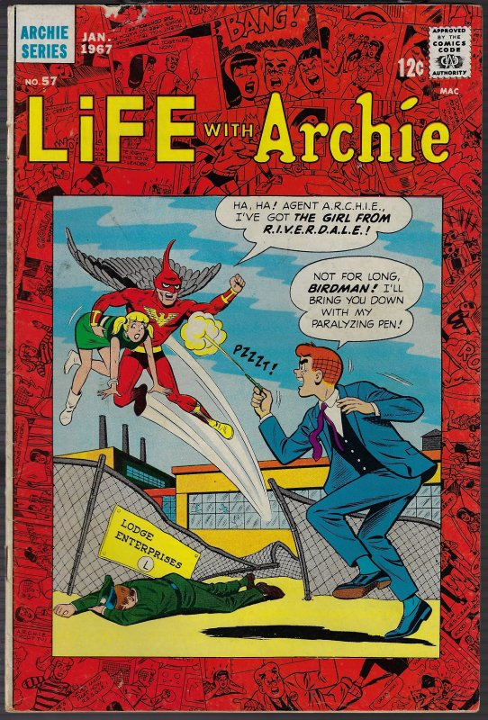 Life with Archie #57 (Archie, 1967) VG+