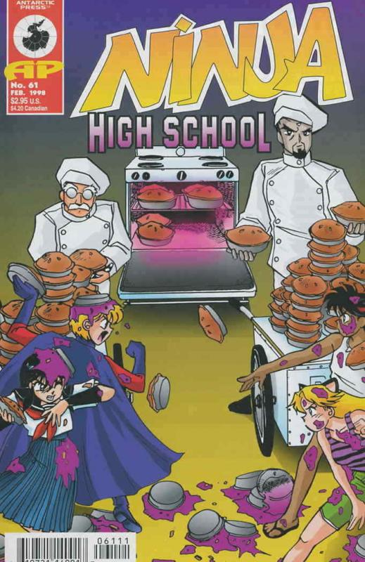 Ninja High School #61 VF/NM; Malibu | save on shipping - details inside
