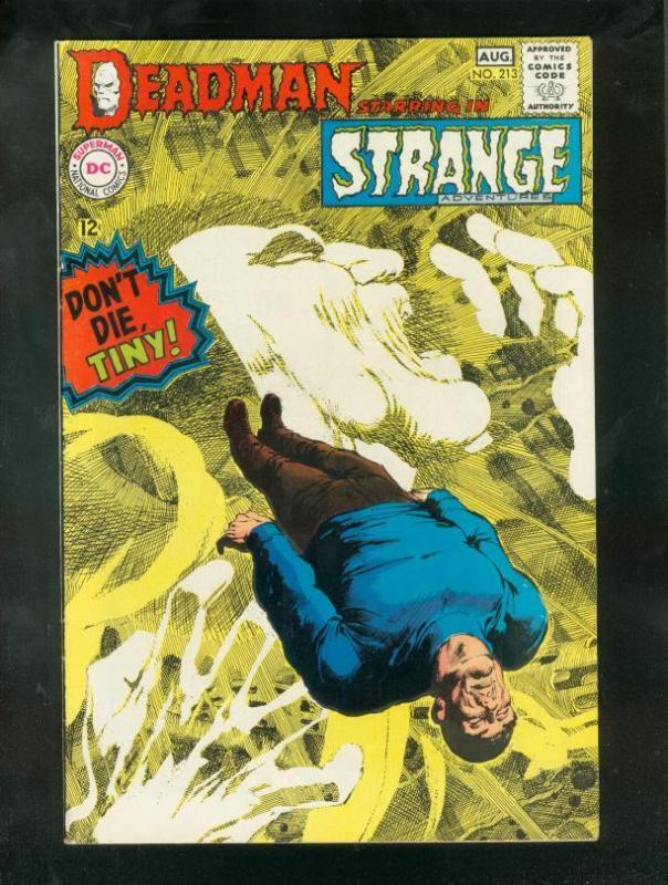 STRANGE ADVENTURES #213 1968-DEADMAN-NEAL ADAMS ART VF