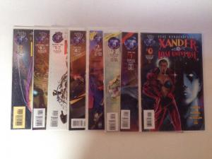 Lost Universe 0 1-7 Near Mint Lot Set Run Gene Roddenberry