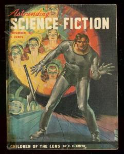 ASTOUNDING SCIENCE-FICTION NOV 1947-L RON HUBBARD-good/very good G/VG
