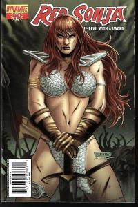 Red Sonja #40 (Dynamite Entertainment)- Fabiano Neves Cover