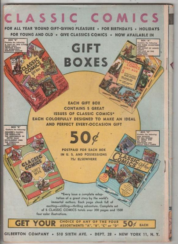Classics Comics Library #7 (Jun-44) FN Mid-Grade Robin Hood, Maid Marrion, Fr...