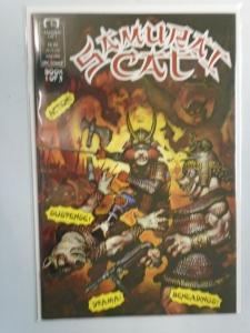 Samurai Cat #1 8.0 VF (1991)