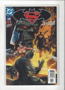 Superman/Batman #11 DC Comics Michael Turner Art Wonder Woman VS Darksied NM