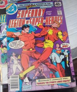 SUPERBOY AND THE LEGION OF SUPER HEROES # 248 DC 1979+  HEMBECK