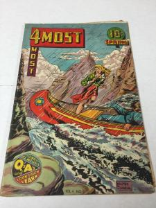 4Most 4 Most Comics Vol. 4 # 2 4.0 Vg Very Good Writing On Cover Golden Age