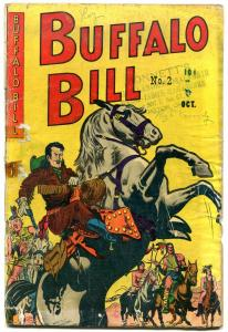 Buffalo Bill #2 1950- Wild Bill Hickok-Annie Oakley Golden Age Western FAIR