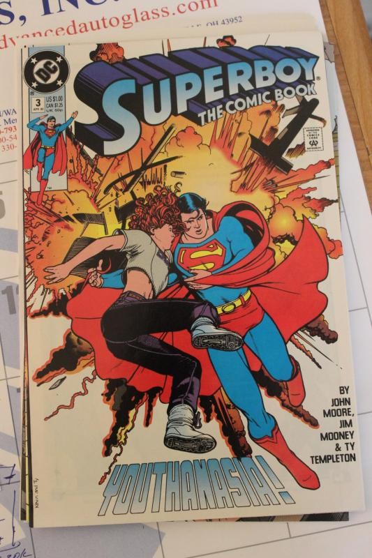 Superboy the Comic Book 3 NM