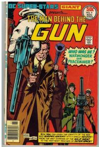 DC SUPER STARS 9 VG Nov. 1976 THE MAN BEHIND THE GUN-