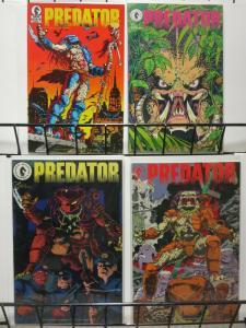 PREDATOR (1989 DH) 1(1ST PRINT),2-4 THE SET!