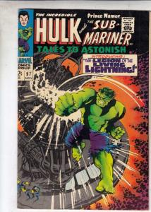 Tales to Astonish #97 (Nov-67) VF- High-Grade Incredible Hulk, Namor