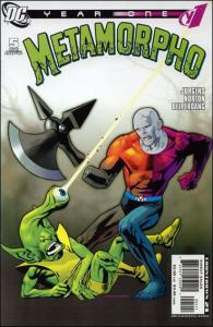 DC METAMORPHO: YEAR ONE #5 VF
