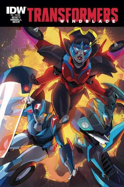 Transformers: Windblade #5, NM- (Stock photo)