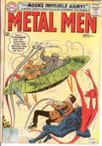 METAL MEN 3 FAIR Sept. 1963 COMICS BOOK
