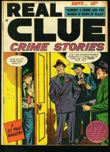REAL CLUE CRIME STORIES V3 # 7 PRE-CODE 1948 VG/FN