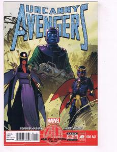Uncanny Avengers # 8 AU NM 1st Print Marvel Comic Book Age Of Ultron Tie-In J57