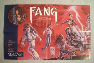 FANG Promo Poster, Joseph Linsner, Kevin Taylor, Unused, more in our store