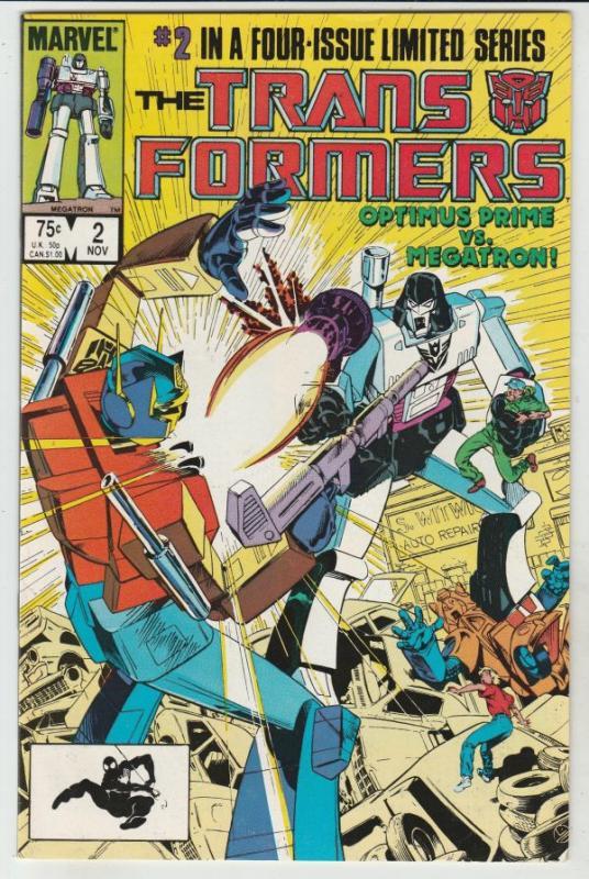 Transformers, The #2 (Nov-84) VF/NM High-Grade Transformers (Optimus Prime)