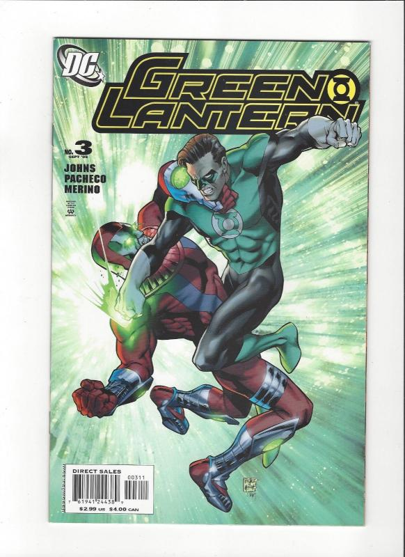 Green Lantern # 3(2005) Carlos Pachecho NM