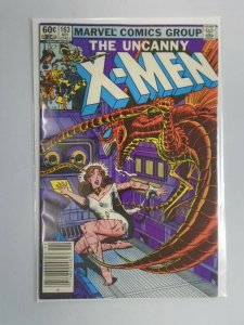 Uncanny X-Men #163 Newsstand edition 6.0 FN (1982 1st Series)