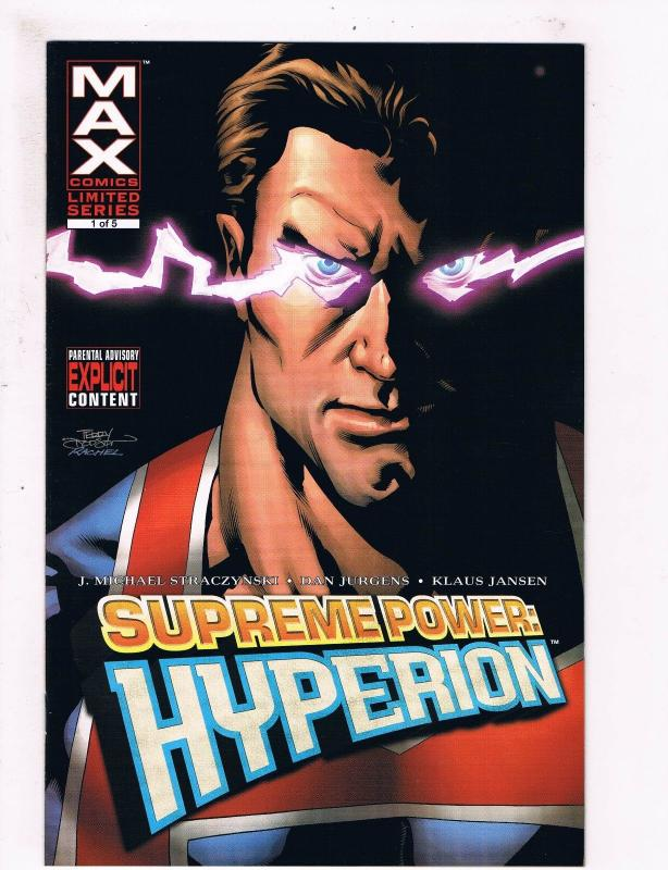 Supreme Power: Hyperion # 1 NM MAX/Marvel Comic Books Nighthawk Great Issue! SW6