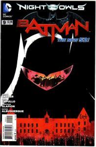 BATMAN (2011) 9 NEW 52 VF+ July 2012