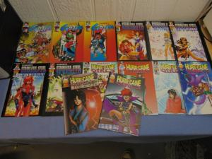 14 AP Antarctic Press English Manga Comic Books Gojin Armadillo Hurricane Girls