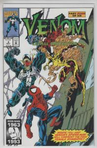 VENOM LETHAL PROTECTOR 6 Issue Mini Complete Spider-man VF/NM-