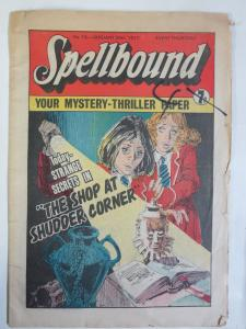 Spellbound #19 January 29, 1977 Your Mystery-Thriller Paper UK Comics Anthology!