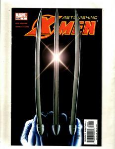 Lot of 11 Astonishing X-Men Marvel Comic Books #1 2 3 4 5 6 7 8 9 10 11 HY7