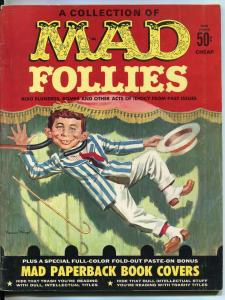 MAD Follies Magazine-1963Mad Paperback Book Covers-Mort Drucker-Don Martin-FN
