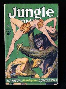 Jungle Comics #75 Fair 1.0