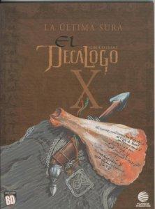 Coleccion BD:  El decalogo volumen 10: La ultima sura