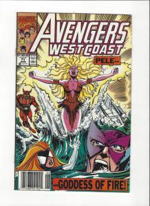 Avengers West Coast #71 Sunfire NM