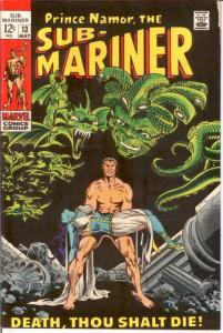 SUB MARINER 13 F+ May 1969 COMICS BOOK