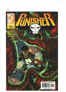Punisher #4 VF+ 8.5 Marvel Knights 1998  Bernie Wirghtson Cover