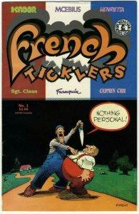 French Ticklers #1 - Kitchen Sink Press - October 1989